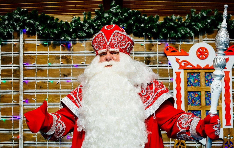 Детский поезд к Дедушке Морозу Зимний Новогодний экспресс в Великий Устюг